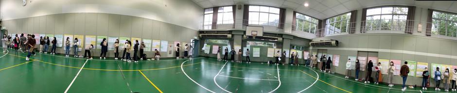 成人看護学授業の発表会