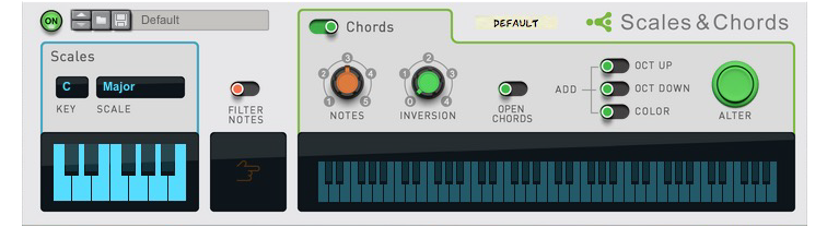 Scales and Chords Player
