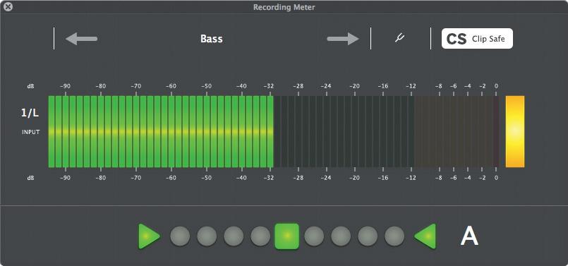 Reason Recording Meter