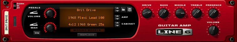 Propellerhead Line 6 Guitar Amp