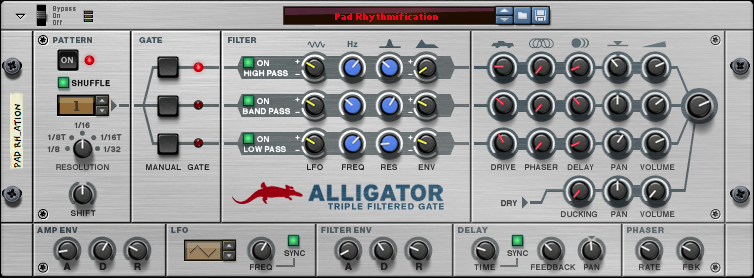 Propellerhead Alligator Triple Filte