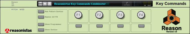 Reasonistas Key Commands Combinator Backdrop