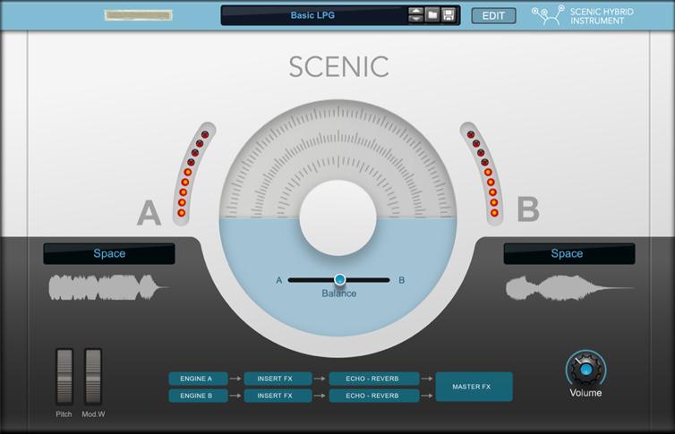 Scenic Hybrid Instrument