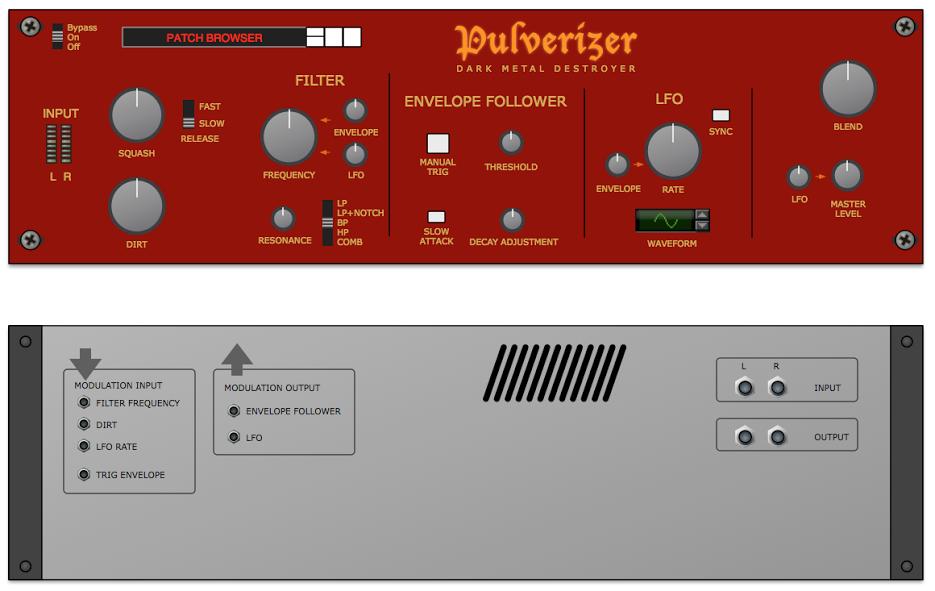 Pulverizer Drawing
