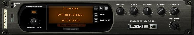 Propellerhead Line 6 Bass Amp