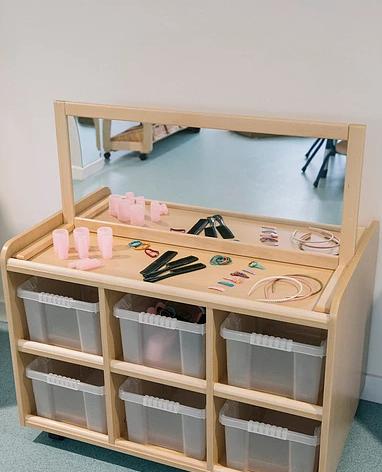 Little Keys Nursery Vanity Table