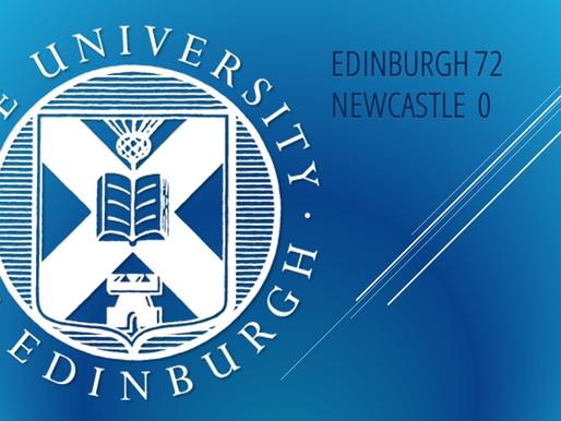 Edinburgh Win 72-0 Against Newcastle