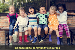 We are connected to Community Resources