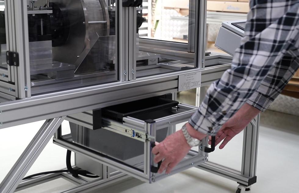 Metri-tek Wear Testing machine