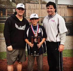 Coach Logan, Anthony and Coach Matt