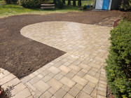 Completed Brick Paver Patio