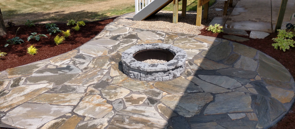 We Specialize In Flagstone Patios!