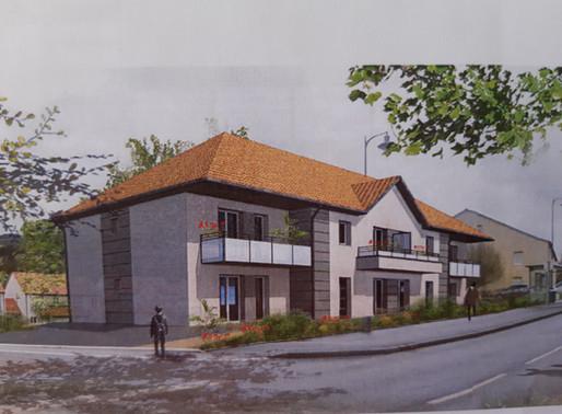 Construction de la Résidence Le Cormier