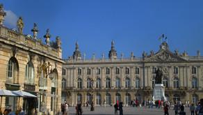 Ville de Nancy, et sa célèbre place Stanislas.