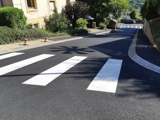 Travaux rue de la Mairie