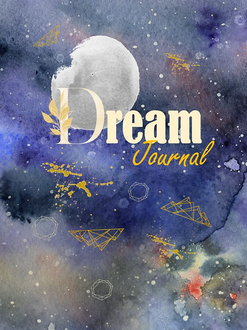 34 Page Dream journal