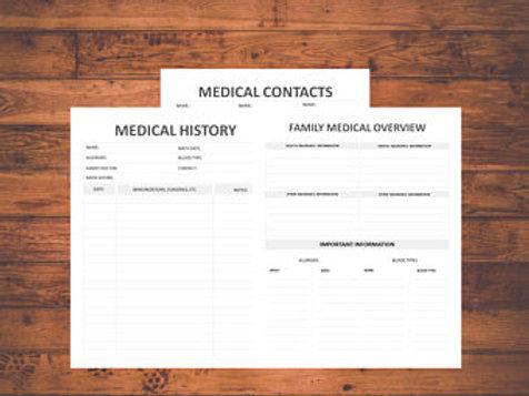 Medical Journal Wellness Tracker