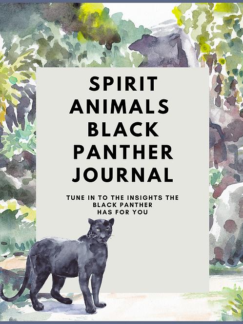 Black Panther Spirit Animal Journal