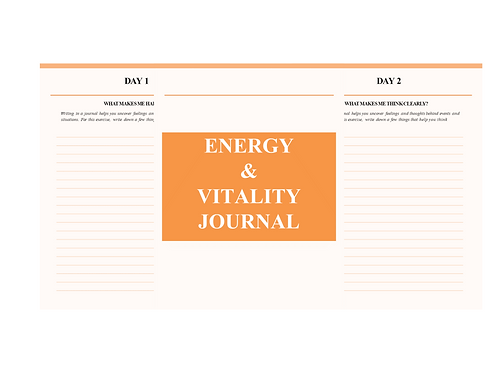Energy and Vitality Journal