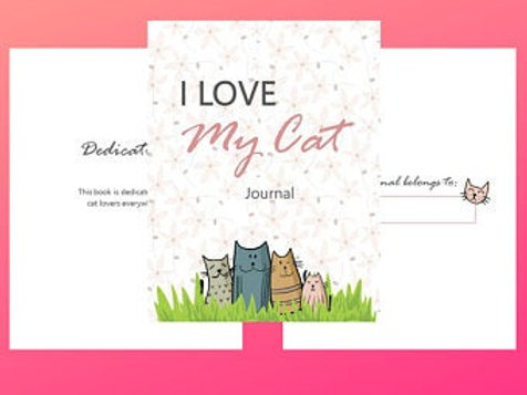 I love my cat journal and planner