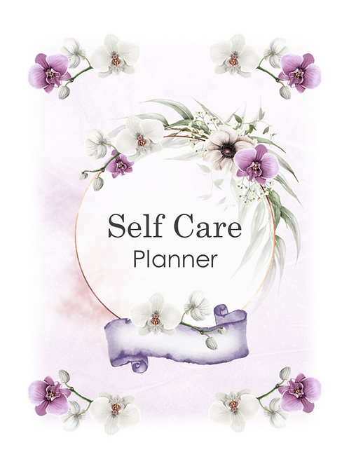 35 Page Self Care Journal