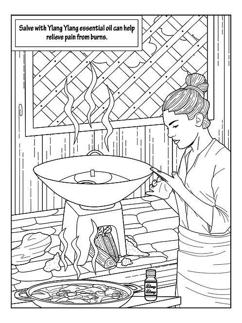 Ylang Ylang Coloring Book