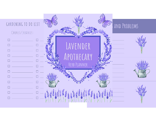 Lavender Apothocary Journal-Package