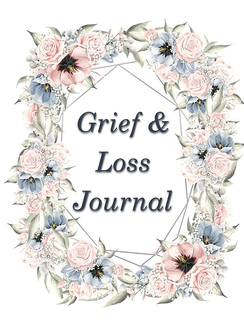 Grief and Loss Journal- on sale