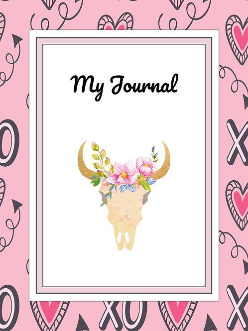 Valentine Design Journal and Planner