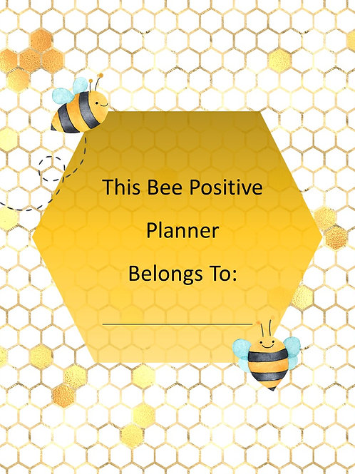 Bee Positive Planner