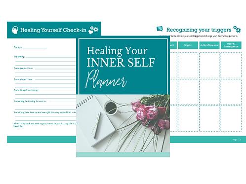 Inner Healing Journal/ Planner and Workbook