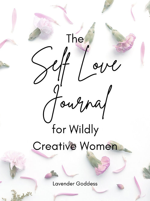 Floral Self-Love Journal