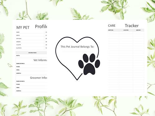 Pet - Veternarian Health Tracker
