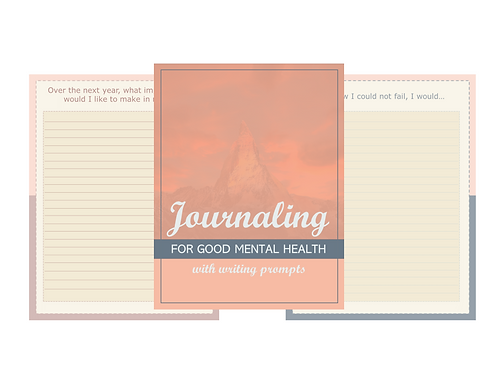Better Mental Health Journal and Package