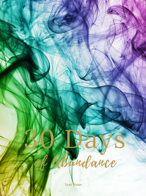 30 Day Abundance Journal
