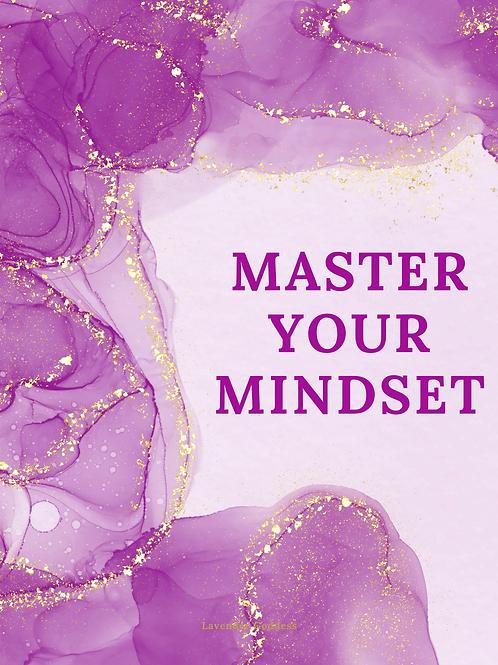 Purple 30 Day Mindset Journal
