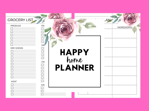 Happy Home Planner