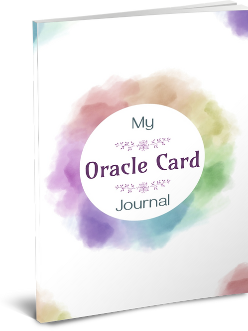 Oracle Card Journal