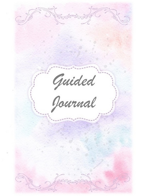 51 Page Guided Journal to deal with anxiety