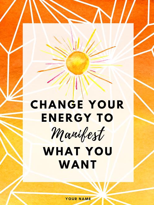 Energy Manifesting Workbook