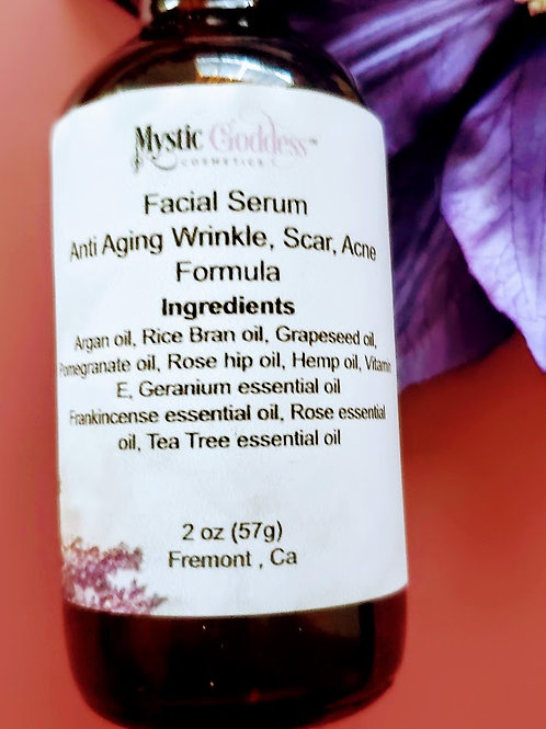 2 oz Anti-Aging Wrinkle , Scar and Acne Face Serum