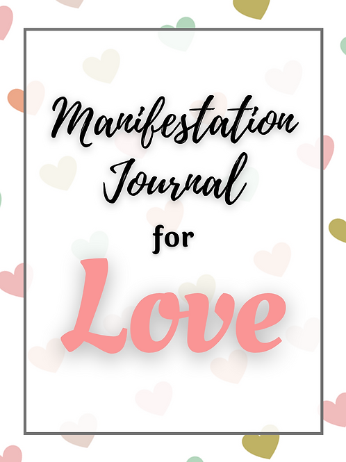 49 Page Relatipnship Manifesting Journal and Planner