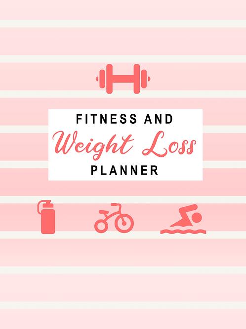 Weightloss planner and journal