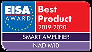 EISA-Award-NAD-M10-e1574262708650.png