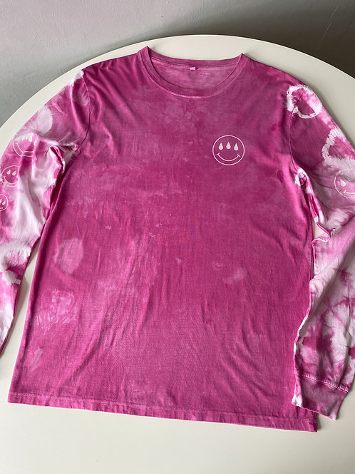 IN/OUT LONG SLEEVE PINK