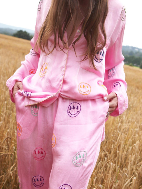 ONE OFF PINK SMILEY SET