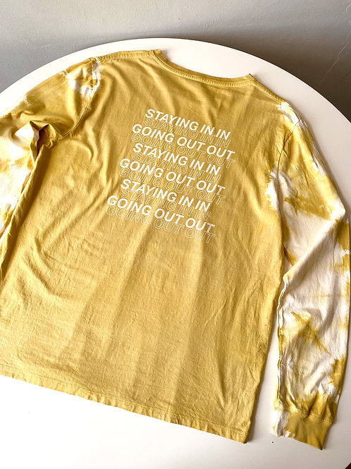 IN/OUT LONG SLEEVE YELLOW