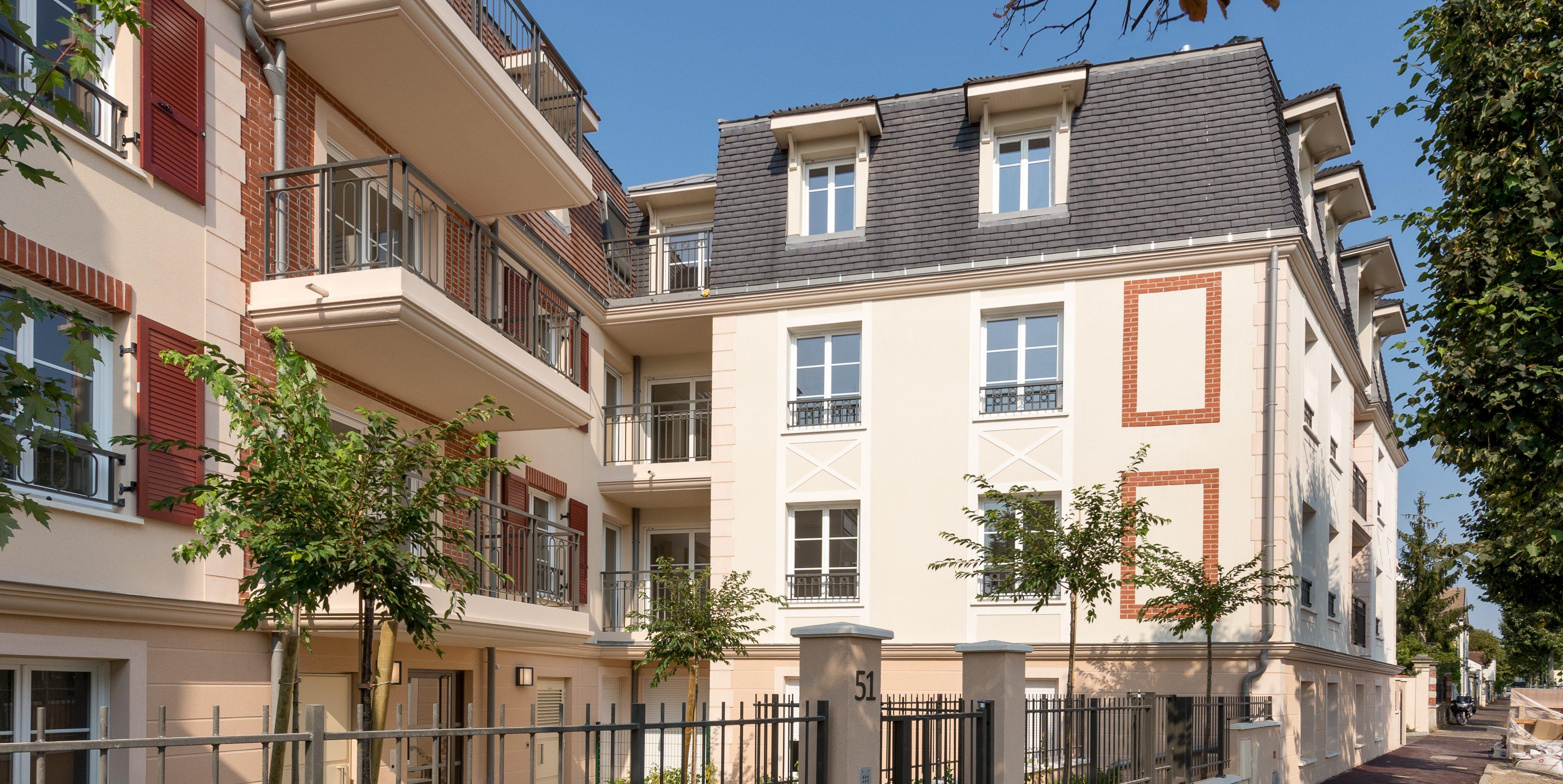 Villa Mansart - 45 logements livrés