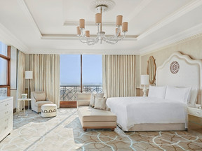 It's worth stopping in Dubai, simply to visit this hotel: Waldorf Astoria Ras Al Khaimah