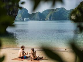 More & more Kiwis enjoying Halong Bay cruises